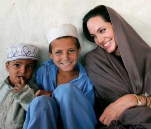 Angelina Jolie's trip to Pakistan